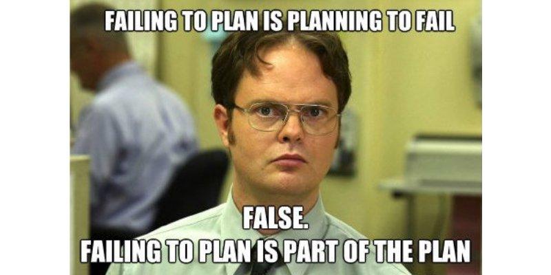 No-Proper-Plan-In-A-Written-Form