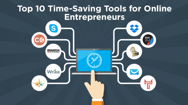 Top 10 Time-Saving Tools for Online Entrepreneurs