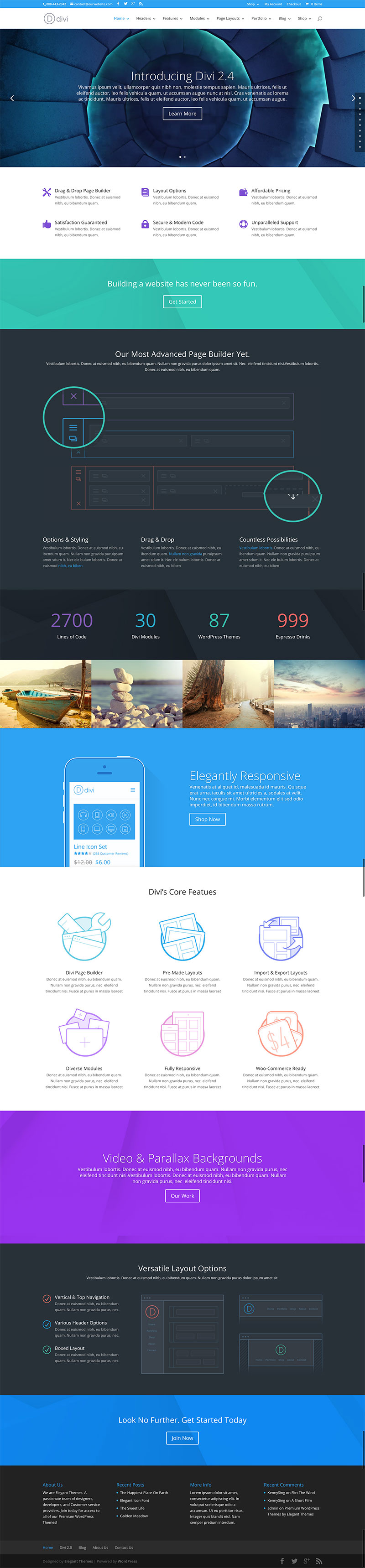 Divi wordpress theme review why it is worth all the hype - Divi wordpress theme ...