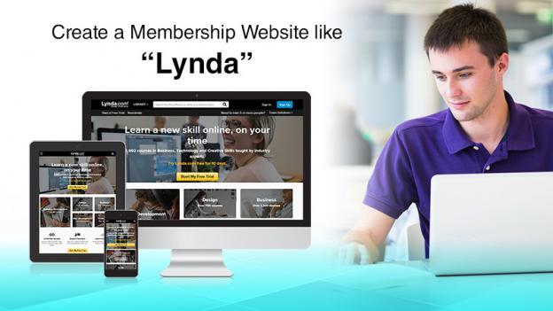 Create Membership Website Like Lynda