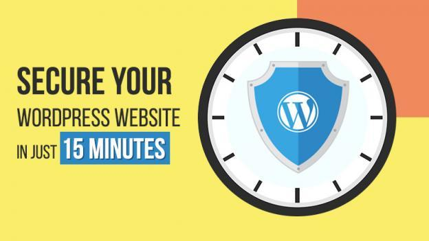 Secure WordPress Website in 15 Minutes