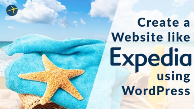 Create a Website like Expedia
