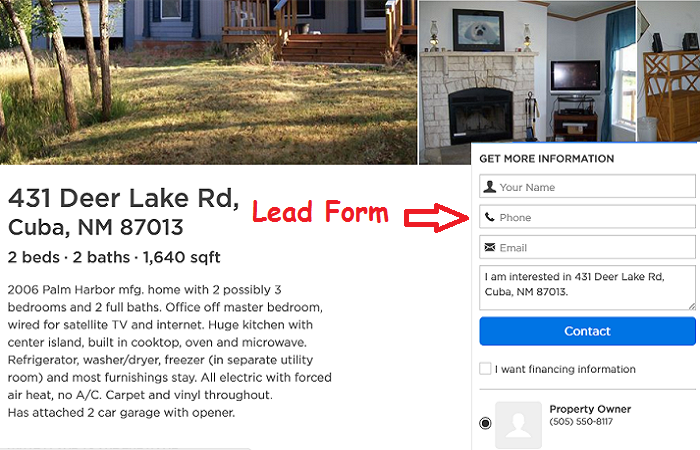 Add Lead Generation Forms