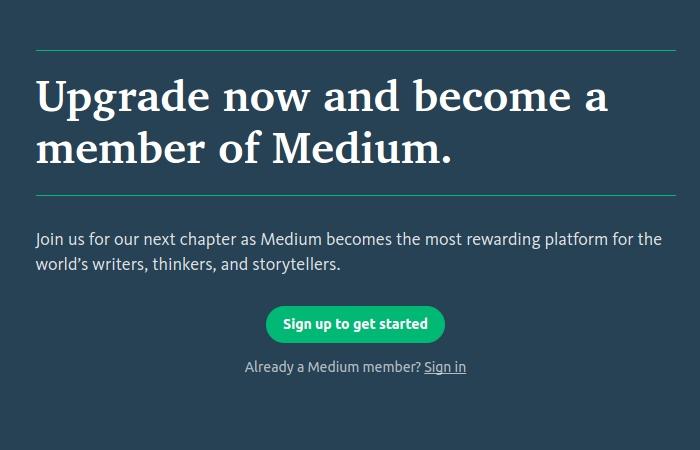 Medium Premium Membership