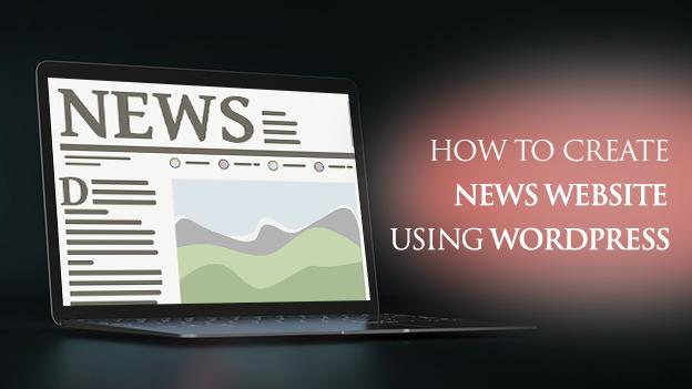 Create News Website using WordPress