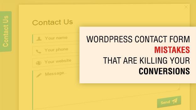 WordPress Contact Forum Mistakes