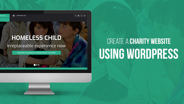 Create A Charity Website using WordPress