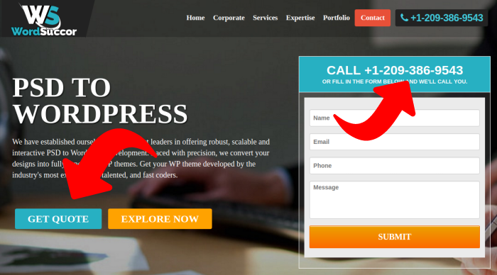Hire PSD to WordPress Experts