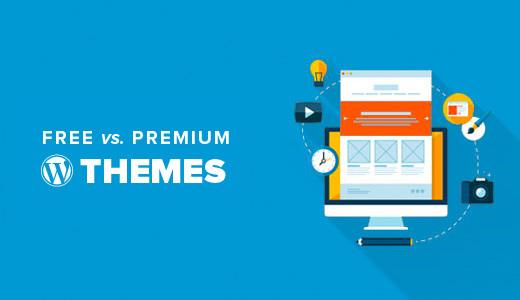 free vs premium themes