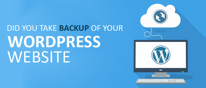 ❏ Did You Take Backup Of Your WordPress Website?