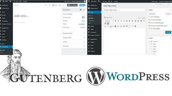 Gutenberg And Wordpress