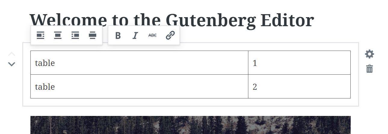 gutenberg editors