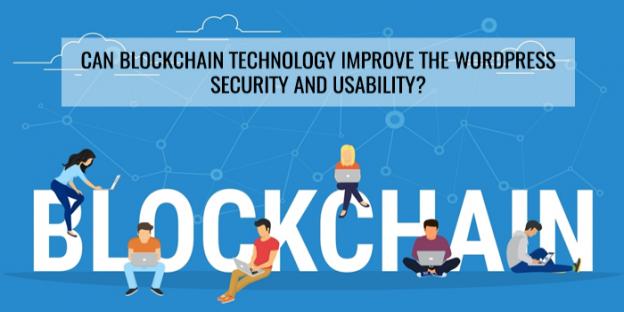 Blockchain wordpress security
