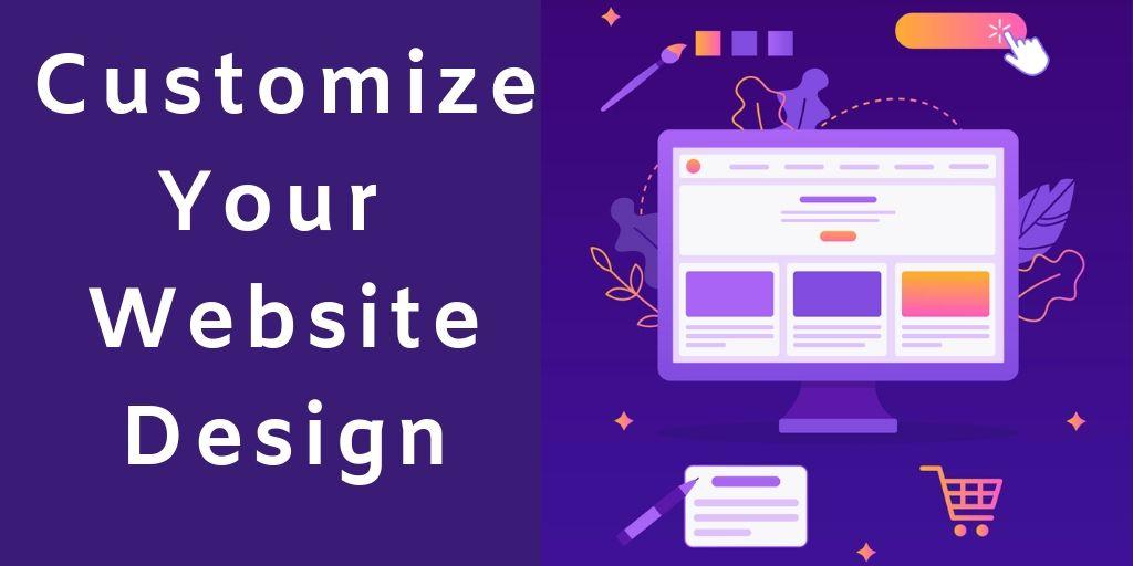 Customize Your Website Design