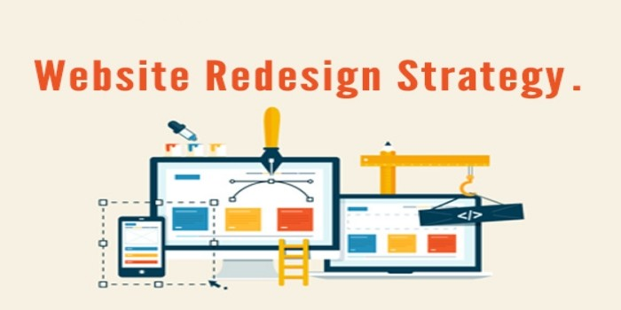 website redesign strategies