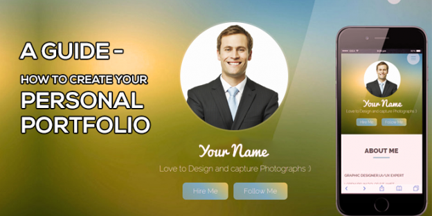 a complete guide on how to create your personal portfolio