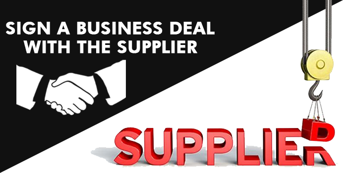 Business Deal with the Supplier