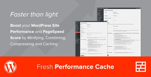 Fresh performance cache