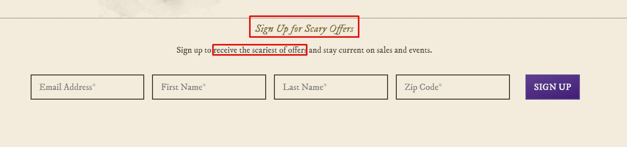 Spooky CTA integrations